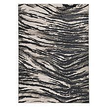 Samba Rug - Black/Grey