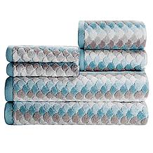 Isla Ombre Stripe Towel Collection