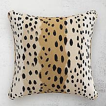 Linen Leopard Pillow 20