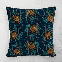 Tiger Bamboo Outdoor Pillow 18