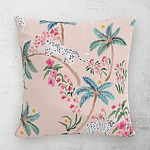 Palm Leopard Outdoor Pillow 18