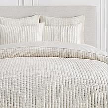 Mardon Velvet Bedding - Ivory