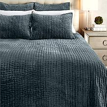 Mardon Velvet Bedding - Bay Green
