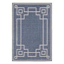 Landry Outdoor Rug - Denim