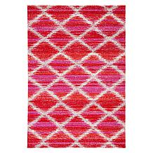Adair Outdoor Rug - Fuchsia