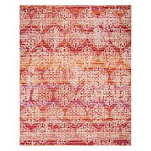 Castello Outdoor Rug - Fuchsia