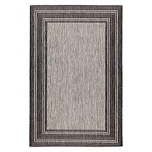 Border Outdoor Rug - Black