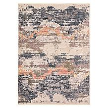 Perry Rug - Blue/Blush
