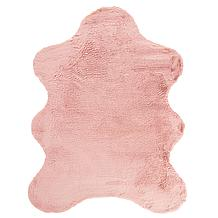 Lapin Animal Shape Rug - Blush
