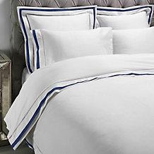 Contrast Boarder Bedding - Indigo