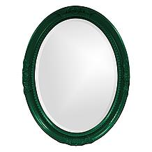 Queen Ann Mirror - Glossy Hunter...
