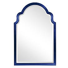Sultan Mirror - Glossy Navy Blue