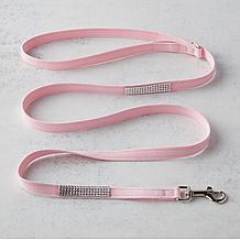 Swarovski Crystal Leash - Pink