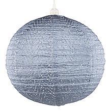 Chevron Metallic Blue Nova Lantern