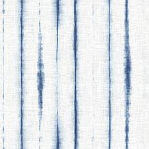 Orleans Shibori Faux Linen Blue ...