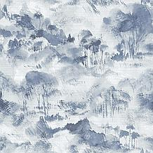 Nara Indigo Toile Wallpaper