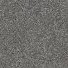 Majestic Starburst Black Wallpaper