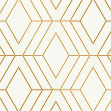 Adaline Off-White Geometric Wall...
