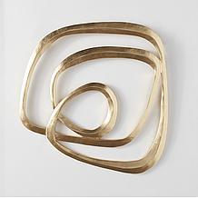 Infinity 2 Wall Decor - Gold