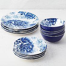 Peony Dinnerware - Set of 4