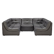 Convo Leather Sectional - Build ...