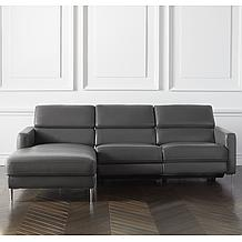 Hudson 2 PC Chaise Sectional