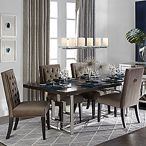 Rylan Extending Modern Dining Room Inspiration