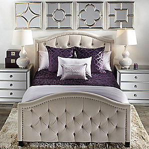 Nicolette Amethyst Bedroom Inspiration