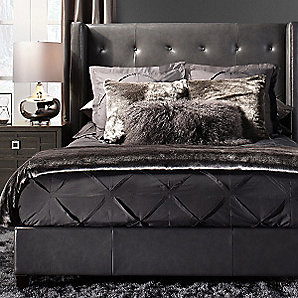 Leather Porter Bedroom Inspiration