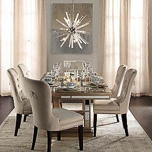 Ava Gossamer Wings Dining Room Inspiration