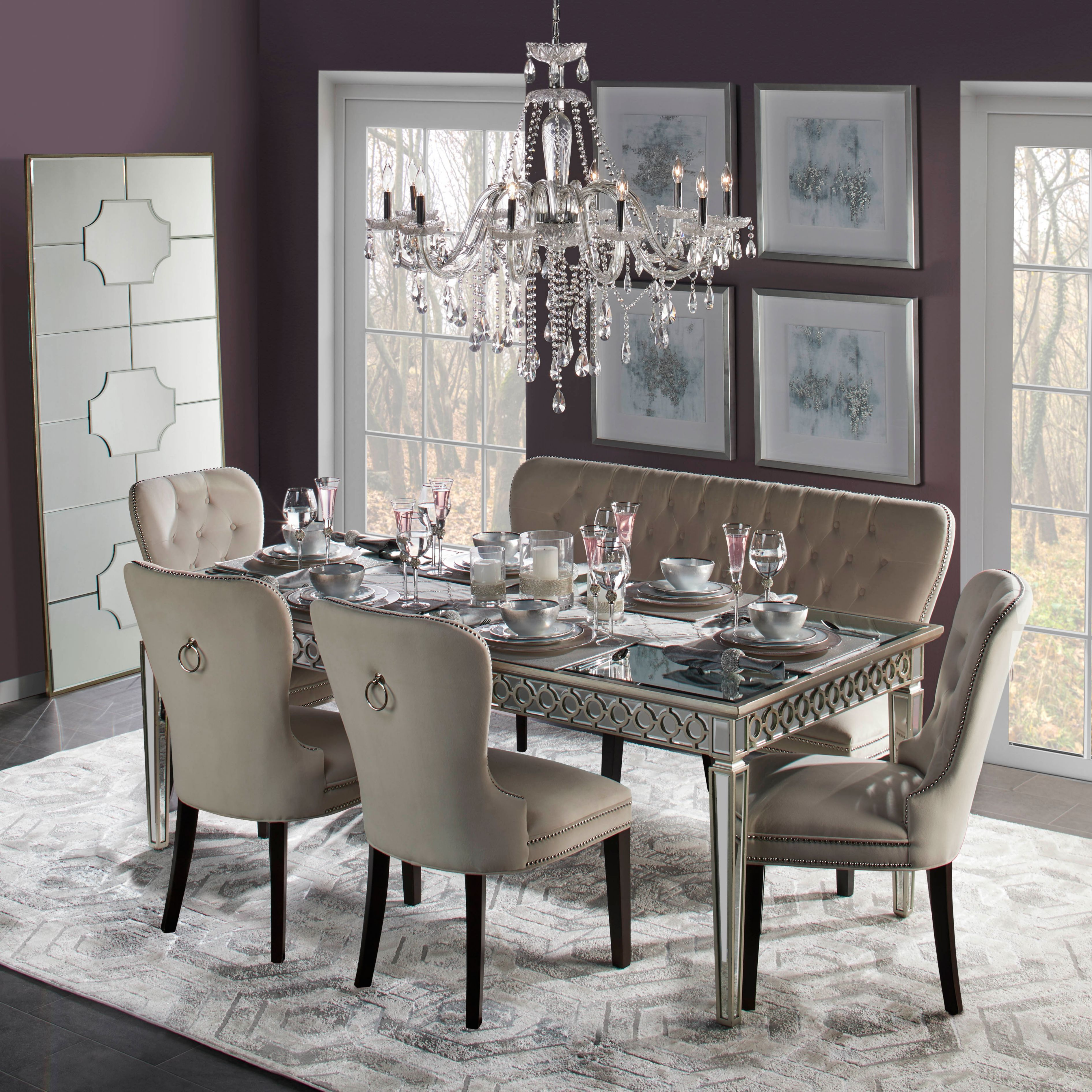 Charlotte Dining Chair Espresso, Z Gallerie Dining Room Chairs