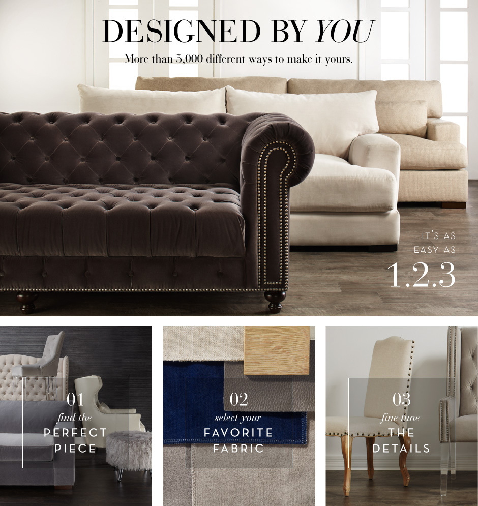 Custom Furniture Designed by You