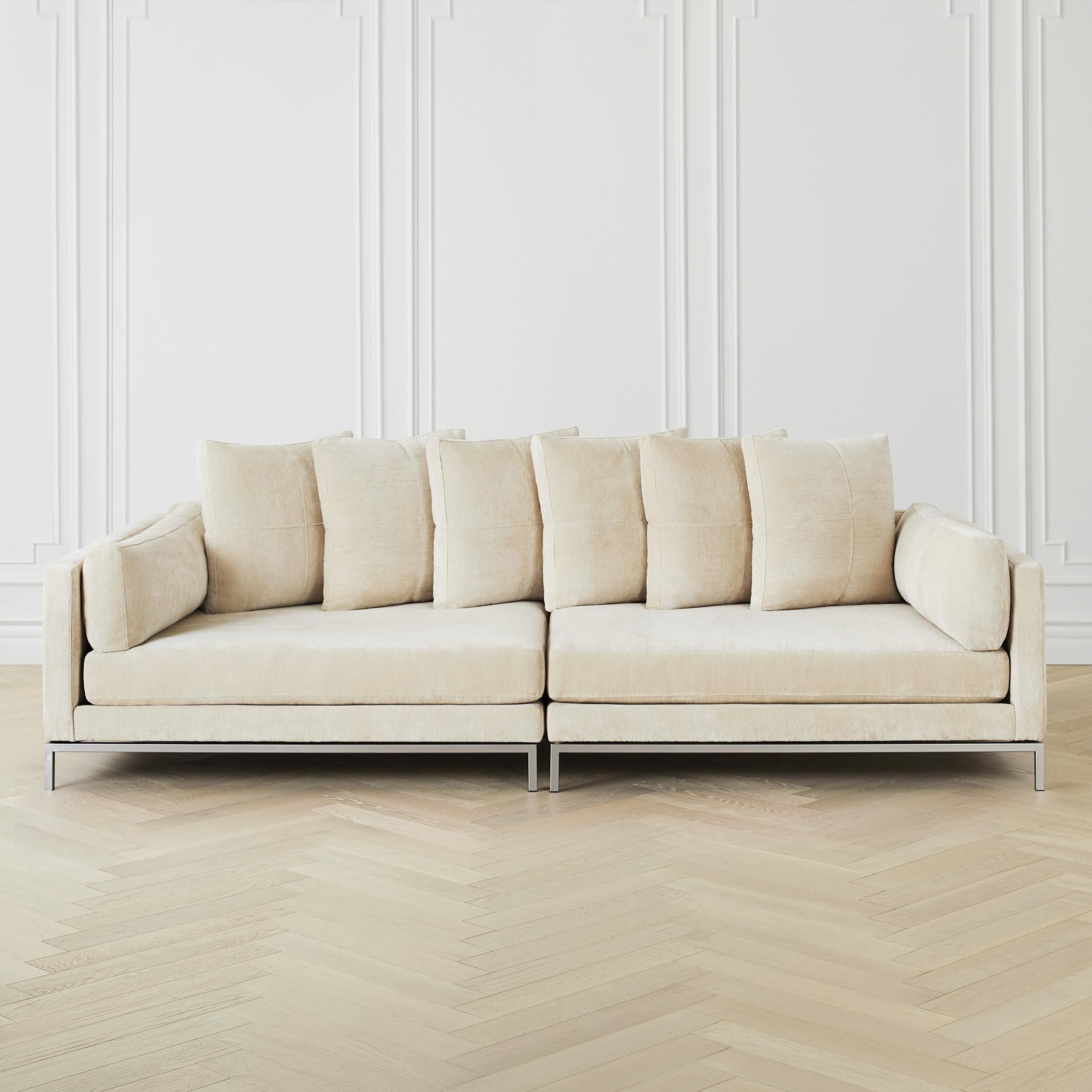 Ventura Extra Deep Sofa 2 Piece Couch