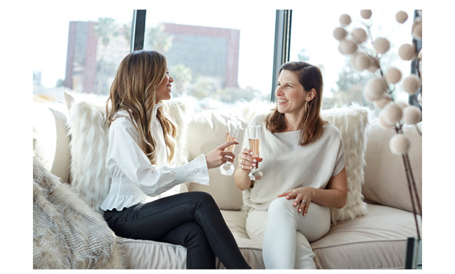 jessi and lucie of 22interiors celebrate jessi's new home