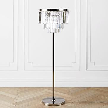 Luxe Crystal Floor Lamp Z Gallerie
