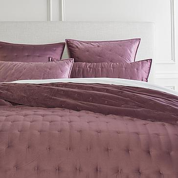 Ayla Reversible Bedding - Plum