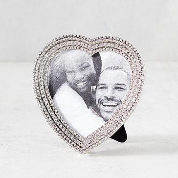 Jeweled Heart Frame