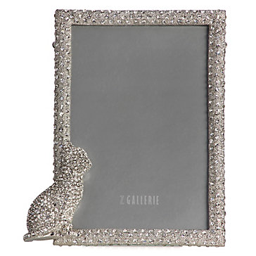 Jeweled Cat Frame