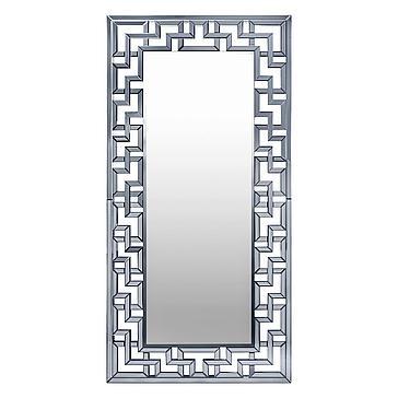 Santorini Leaner Mirror - Graphite