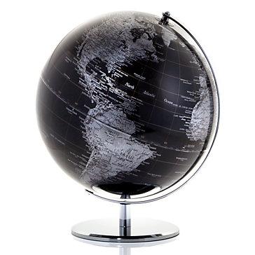 World Globe - Black