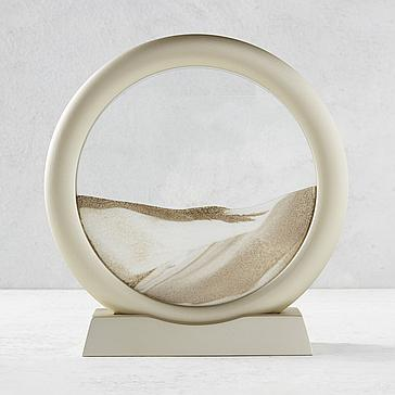 Sand Art with Stand - Gold
