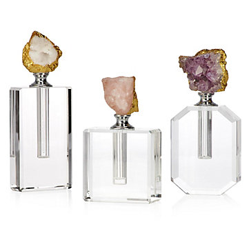 Quartz Perfume Bottle