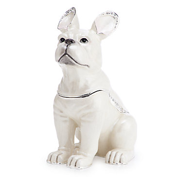 French Bulldog Trinket Box