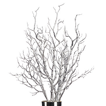 Metallic Branch - Set of 3