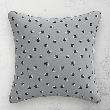 """Crewel Stitch Leopard Pillow 20"""""""