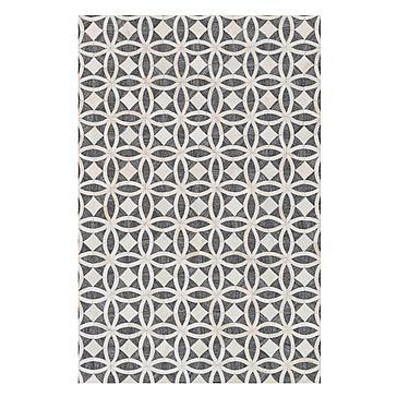 Revel Rug - Graphite/Ivory