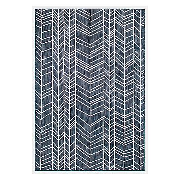 Kaden Outdoor Rug - Navy