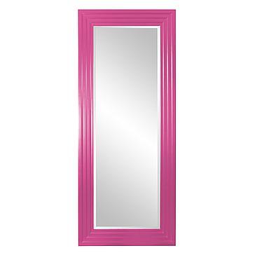 Delano Mirror - Glossy Hot Pink