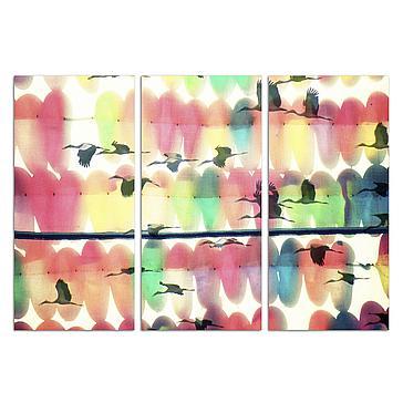 Birds Of Malaca Triptych