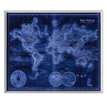 Sapphire World Map